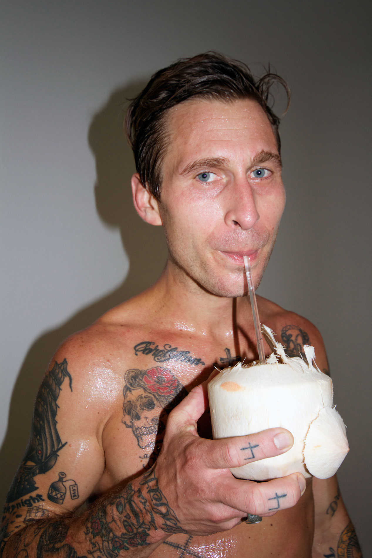 sam-mission-chinese-drinking-coconut