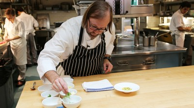 How-To: Make Shrimp Grits with Wylie Dufresne