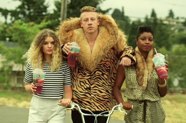 does macklemore have a big dick small girl big cock