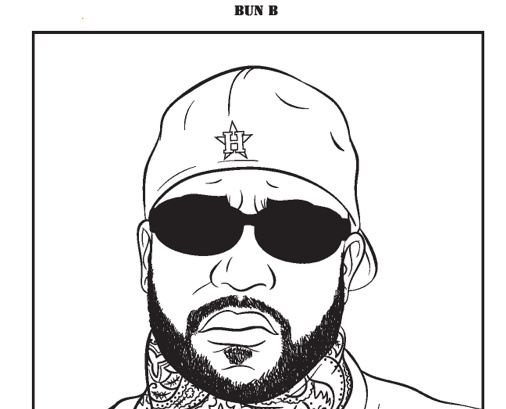 A Tempered Measured Review Of Bun Bs Rap Coloring And Activity Rapper Pages To Color B Book