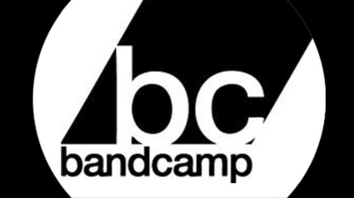 bandcamp logo black background - 662×441
