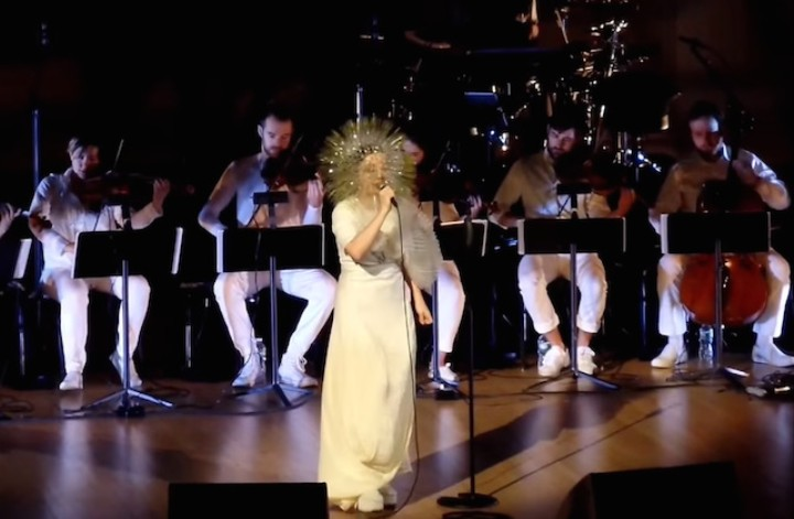 """Björk and Arca Performed """"Stonemilker"""" Live for the First Time and it is Totally Beautiful"""