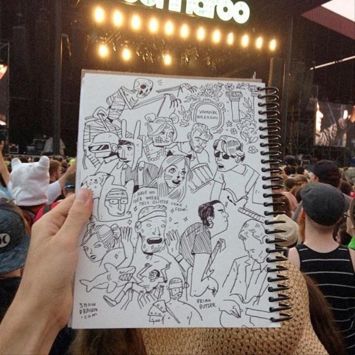 Meet the Punk Rock Illustrator Who's Worked with Jay Z, Wu Tang, Dropkick Murphys, and More
