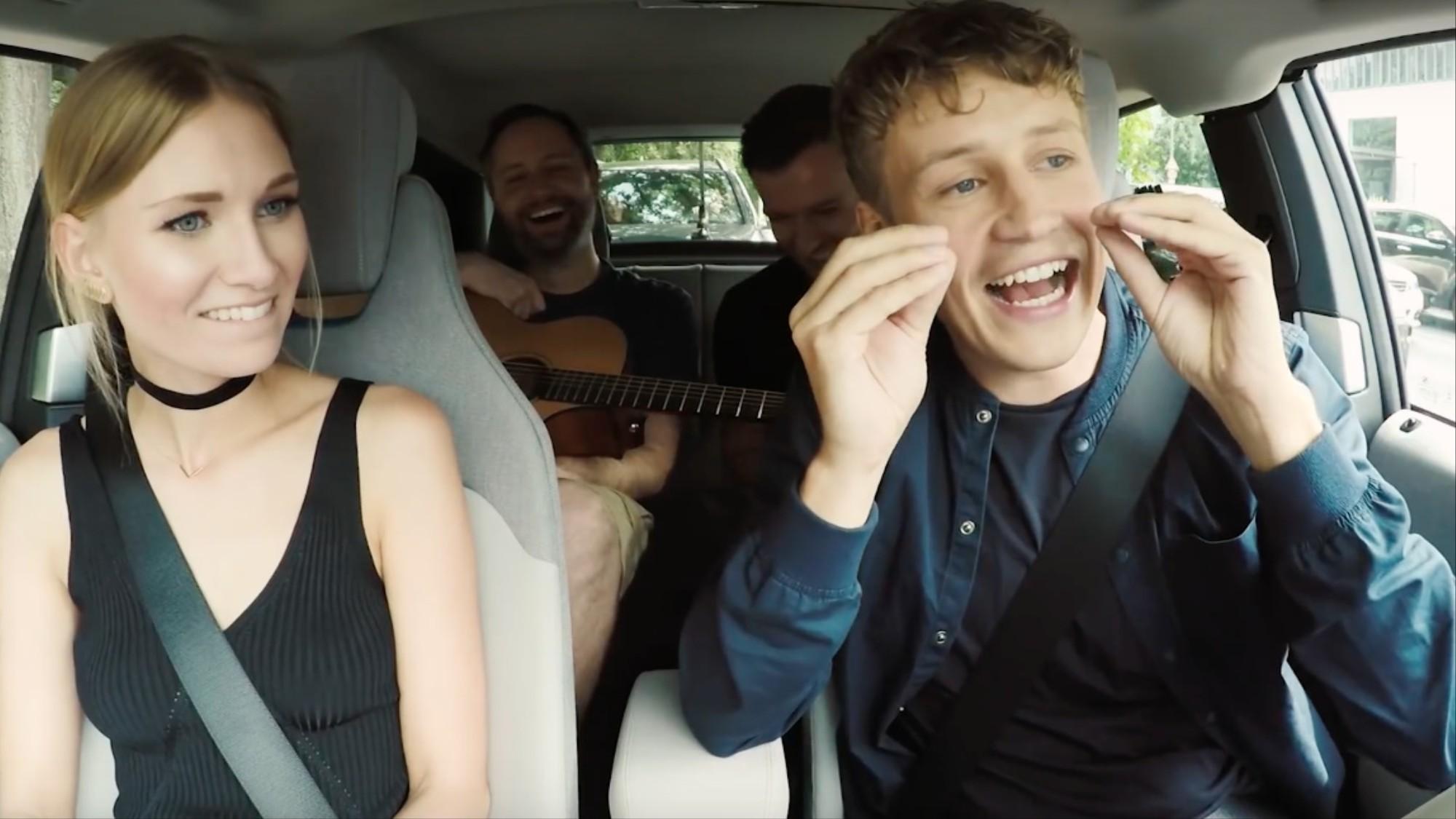 Es Gibt Carpool Karaoke Jetzt Auch Auf Deutsch Und Es Ist