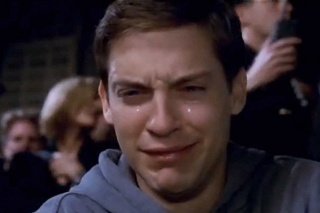 Rip ow Tobey-maguire-crying