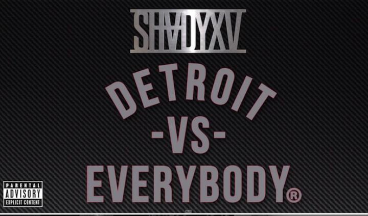 """Eminem feat. Danny Brown, DeJ Loaf, Big Sean, and Royce da 5'9"""": """"Detroit Vs. Everybody"""""""