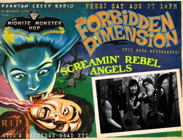 Legendary Canadian Horror Punks Forbidden Dimension Are Finally Playing New York City