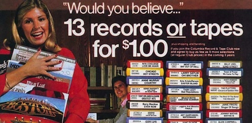 Captivating The Wall Street Journal Reported Yesterday That Columbia House, The Once  Billion Dollar Mail Order Music Club, Is Planning On Relaunching And Is  Setting Its ...