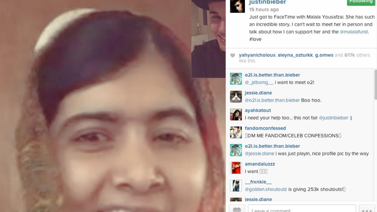 how to meet malala yousafzai