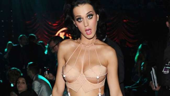 katie perry tits