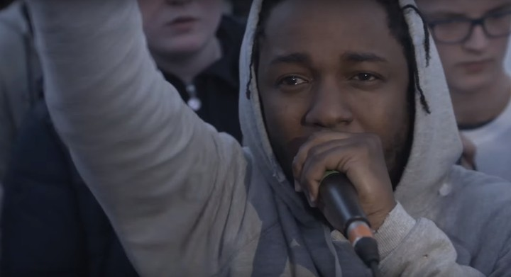 Watch Kendrick Lamar Steal the Mic at a Rap Cypher in Manchester, and Clash Some Teen Rappers