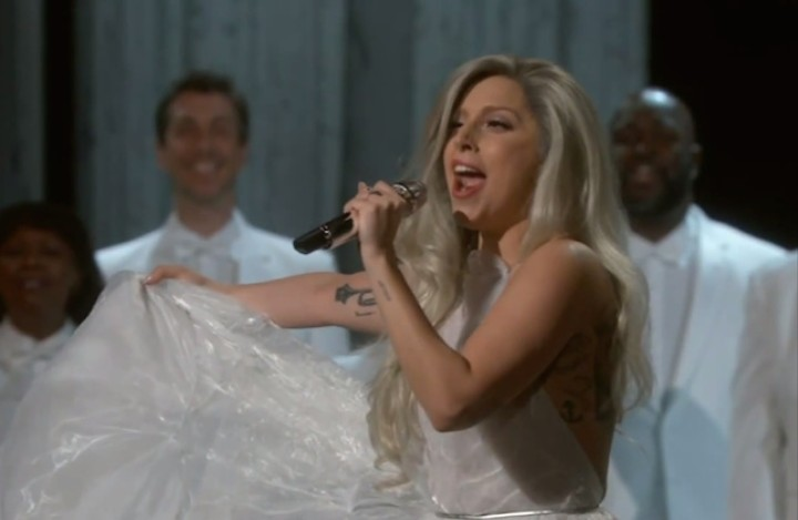 Lady Gaga Shocked Everyone at the Oscars Last Night by Actually Being Great