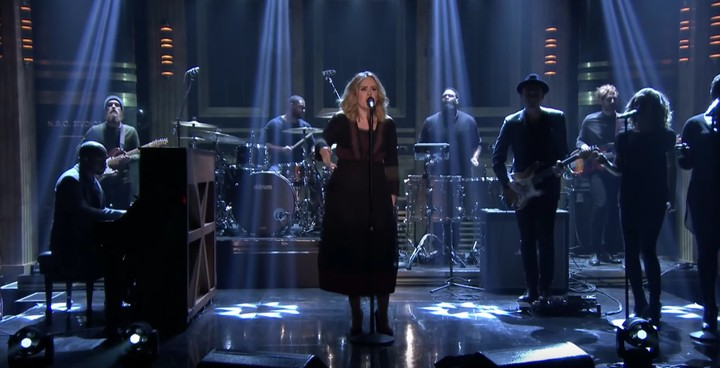 "Let the Tears Flow for Adele's Performance of ""Water Under The Bridge"" on Fallon"