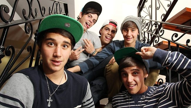 Who is james from the janoskians dating