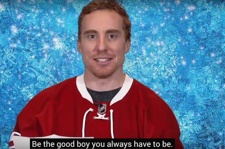"""This Video of Professional Hockey Players Singing """"Let It Go"""" from 'Frozen' is Worse Than You Think"""