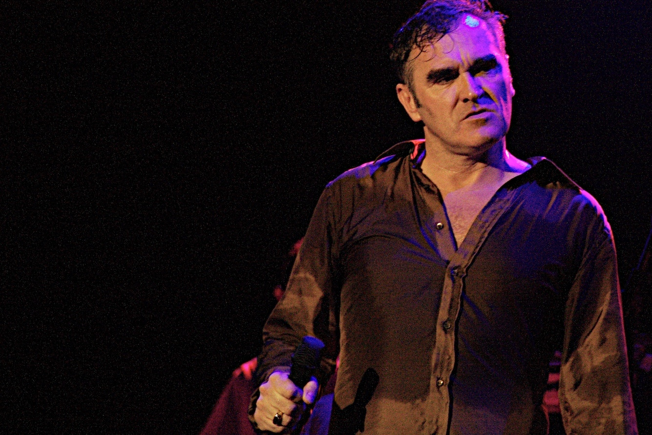 Image result for morrissey staring