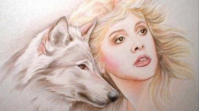 b14dcea89 My Awesome Collection Of Photos Of Stevie Nicks Hanging Out With Animals