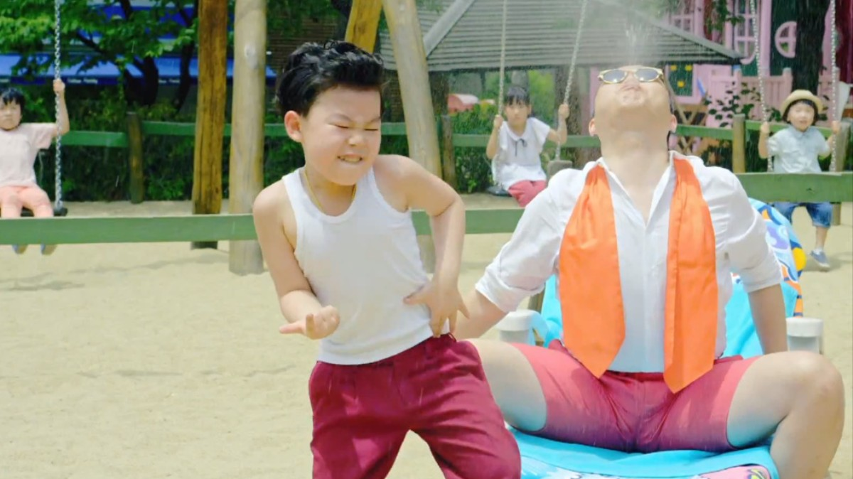 Little PSY Goes Solo After 'Gangnam Style' Cameo | Billboard  |Gangnam Style Guy Name