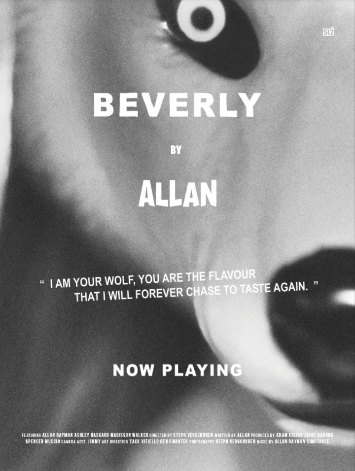 """Premiere: Watch Allan's Semi-Erotic Video for """"Beverly"""""""