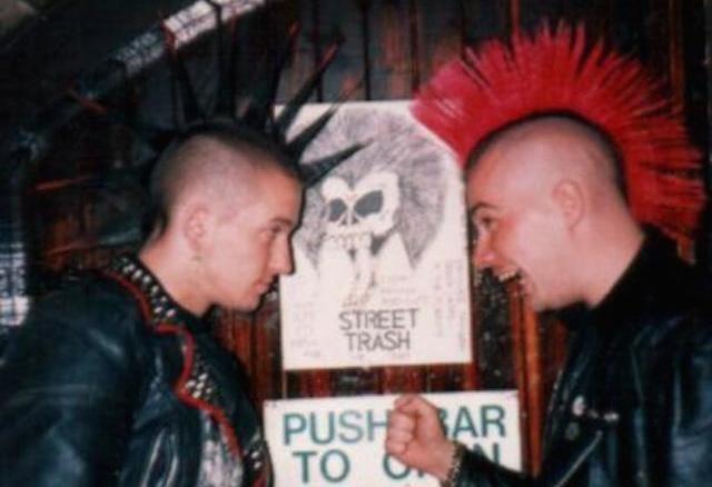 Punk oral stimulation enjoyment with facial
