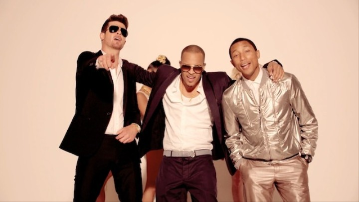 Blurred Laws: In Defense of Pastiche and Robin Thicke