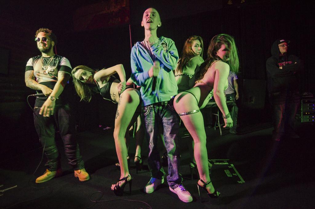 Cincinnati night club strip