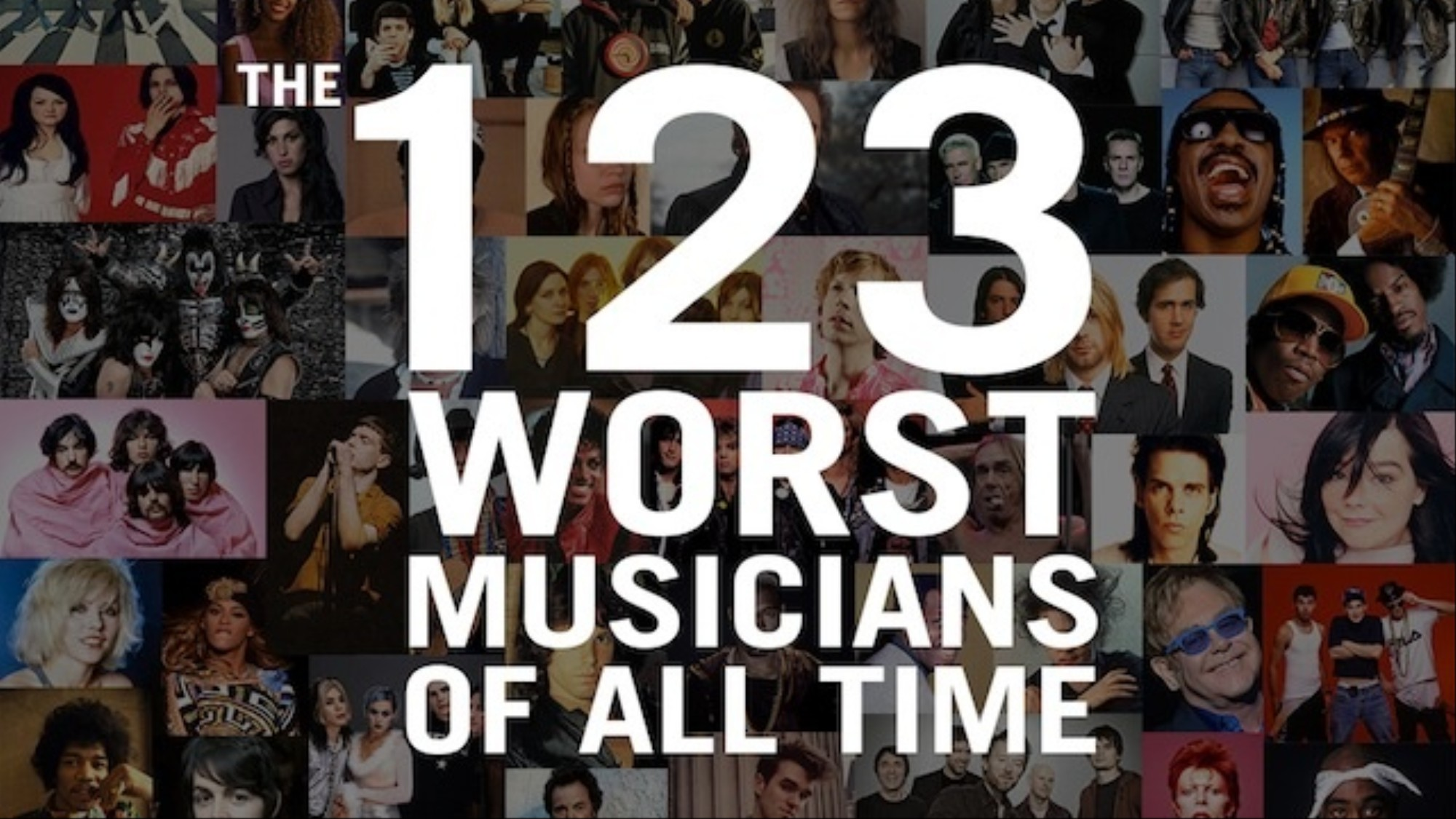 The 123 Worst Musicians of All Time - VICE