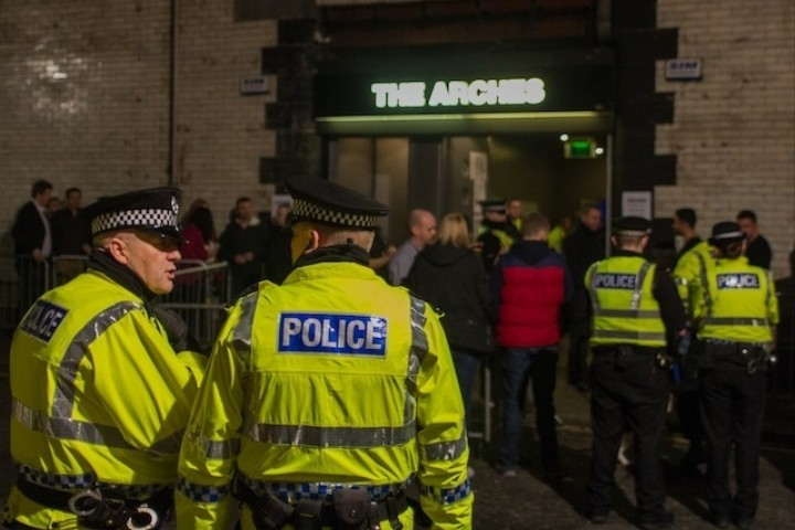 The Police Are Trying to Kill off Glasgow's Best Club, but the City Is Not Going Down Without a Fight