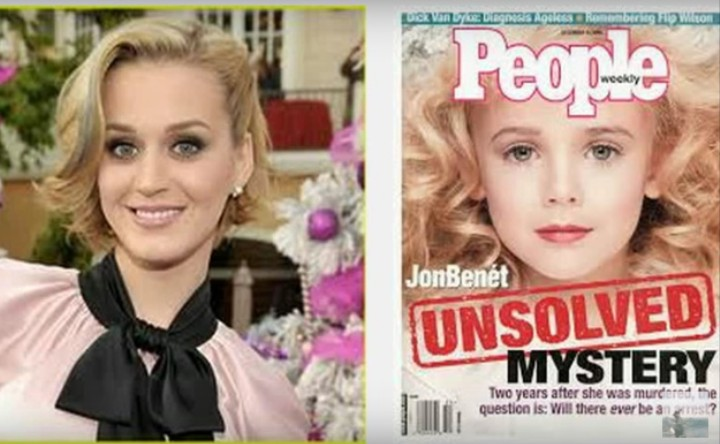 There's an Insane Internet Conspiracy Theory That Katy Perry and JonBenét Ramsey Are the Same Person