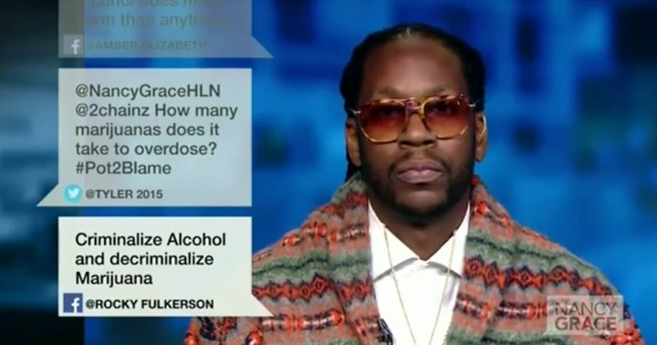Watch 2 Chainz Debate Weed with Nancy Grace