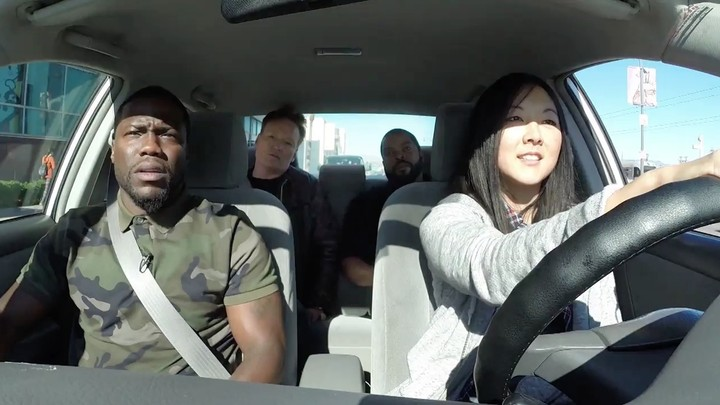 It Turns Out Ice Cube, Kevin Hart, and Conan O'Brien are the World's Best Driving Instructors