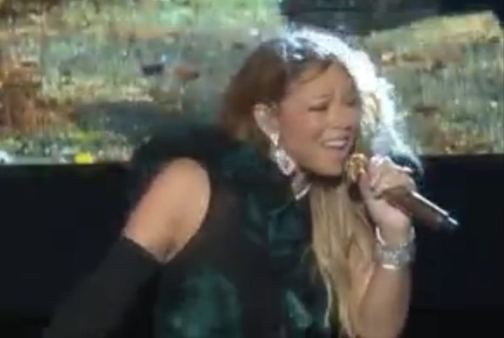 "Watch Mariah Carey Crash, Burn, and Lip Sync Her Way Through One of Her Biggest Hits, ""Fantasy"""