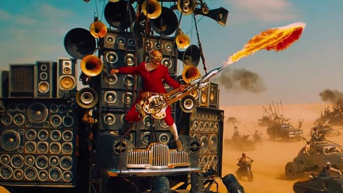 Image result for mad max guitar