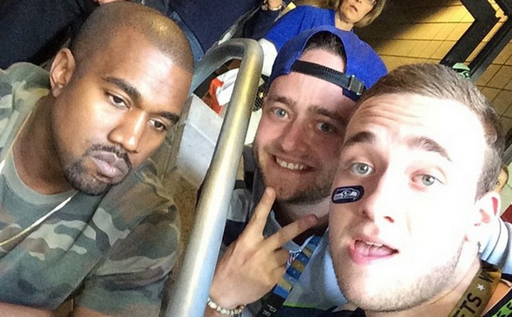 We Talked to the Guy Who Got a Selfie with Kanye at the Super Bowl