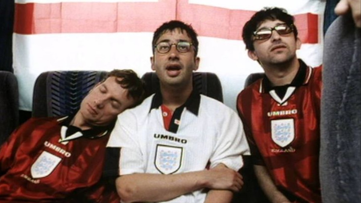 Three Lions on the Shirt