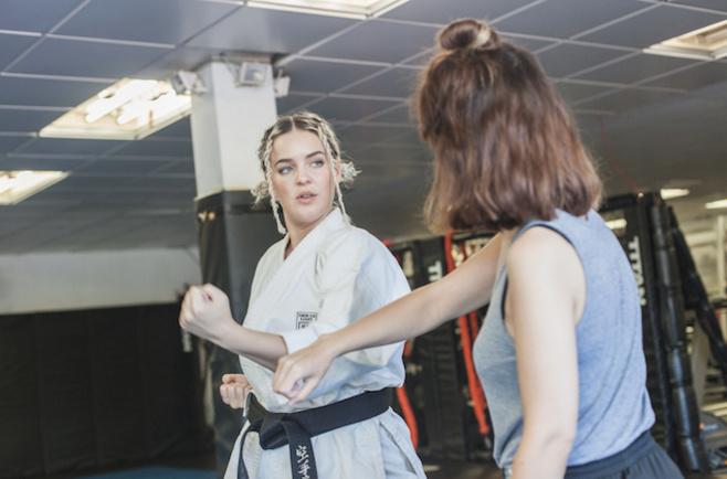 Dating karate woman