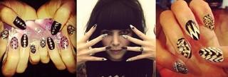 Alexis Krauss Sleigh Bells Ria Lopez nails