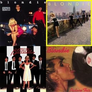 Blondie album covers