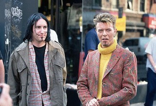 David bowie NIN trent reznor soul patch