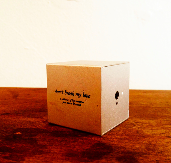 Noisey Nicolas Jaar - Don't Break My Love Box