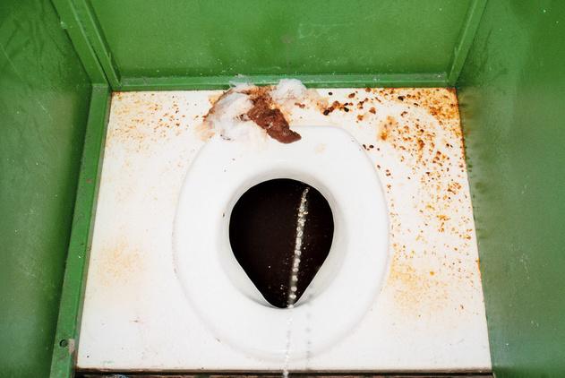 Huge Dump In Toilet