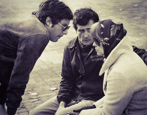 Friedkin on the set of The Exorcist