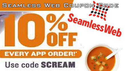 Seamless coupon code