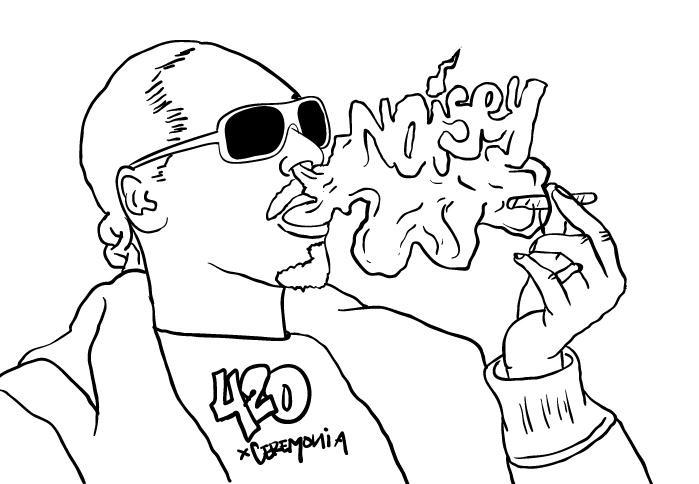Los mejores dibujos que nos mandaron de Snoop Dogg festejando el