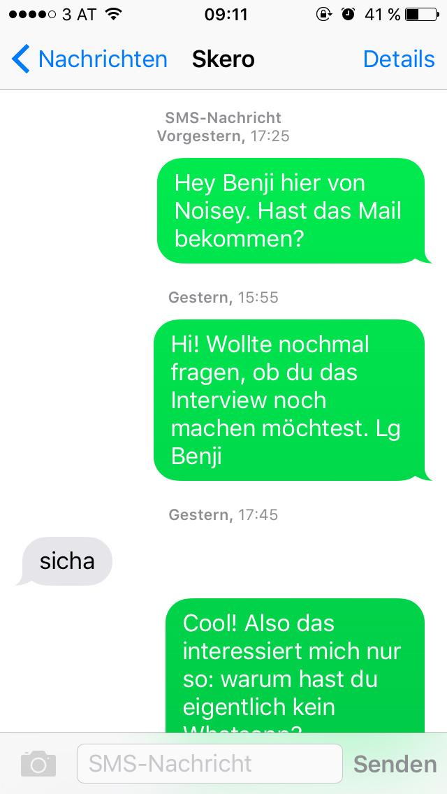 sexy texte zu senden