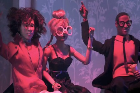 Mark Ronson Plays with Dolls