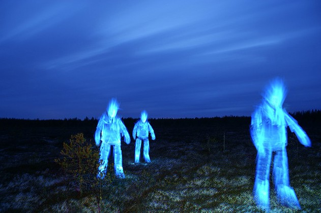 Ghostly Light Painting Photographs In Time For Halloween [Photo Gallery]