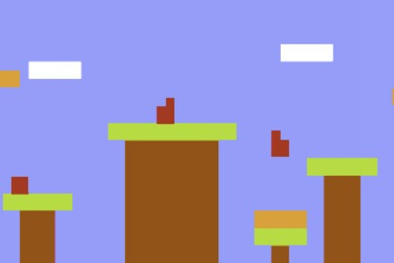 "Super Mario Bros. Gets Stripped Down In ""Minimal Mario"""