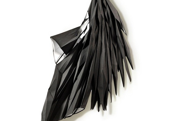 Wearable Installation Spans Mediums (And Wings)