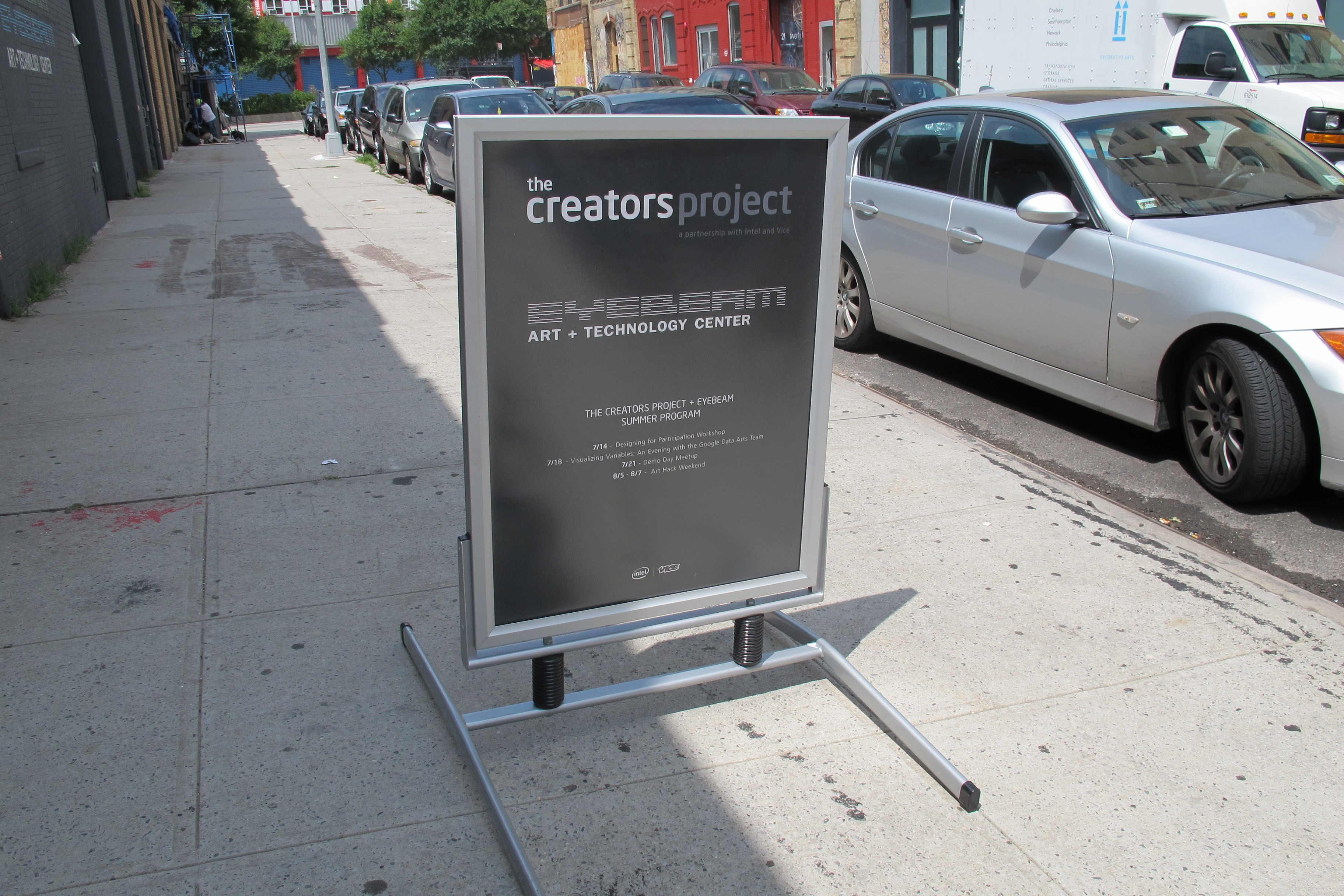 The Creators Project And Eyebeam Team Up For Art Hack Weekend